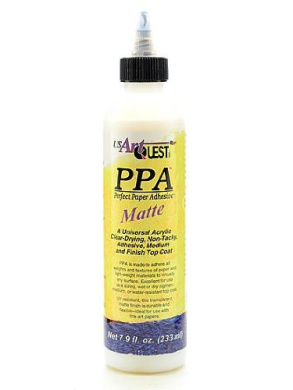 US Art Quest Perfect Paper Adhesive matte 230ml [PACK OF 2 ]