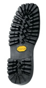 Vibram # 132 Montagna Block Unit Sole Black Colour Size 10 - Shoe Repair - 1 Pair