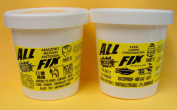 All-Fix Epoxy Putty 3 Pound Unit - 2 Pint Set - Underwater Epoxy - All Fix By Cir-Cut Corporation - The All Purpose Epoxy Repair Material - Home - Jewellery Design - Arts & Crafts - 1001 Uses !
