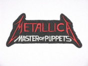 """METALLICA Puppets Iron On Metal Band Patch 4.6""""/12cm x 2.3""""/6cm By MNC Shop"""