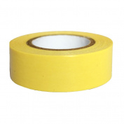 Lychee Craft Yellow Decorative Craft Paper Pure Colour Washi Tape