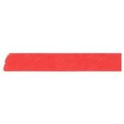 Japanese Washi Masking Tape - Maste Mini Solid Red Single Roll