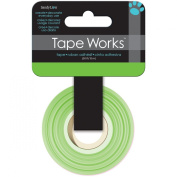 Tape Works Tape, Solid Colour Bright Green