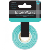 Tape Works Tape, Solid Colour Pastel Turquoise