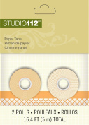 K & Company Studio 112 Paper Tape for Scrapbooking