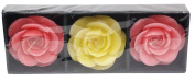 Auroshikha Rose Floating Candles Gift Pack - 3 in 1