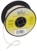 Yaley Candle Wicking Spool 75 Yards Medium Bleached 110164