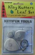 Kemper Leaf Cutter Set set of 4