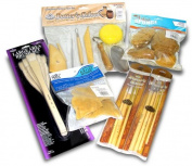 Super Potters Tool And Brush Set