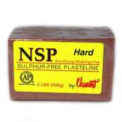 Chavant Clay - NSP Hard Brown - Sculpting and Modelling Clay
