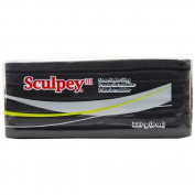Sculpey S308042 Sculpey III - 240ml - Black