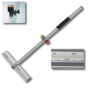 """24""""/60cm Dual Scale High Quality Speed T-Cutter, Production Glass Strip Cutting"""