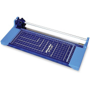 Photo-Max Economy Series Rotary Paper Trimmer, 30cm , Blue, Plastic Base