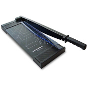 Photo-Max Economy Series Guillotine Paper Trimmer, 30cm , Black, Metal Base