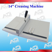 """Manual 14"""" 360mm Scoring Paper Creasing Machine Scorer Creaser + 2Magnetic Block"""