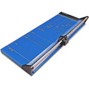 Photo-Max Deluxe Series Rotary Paper Trimmer, Self-sharpening, 60cm , Royal Blue, Metal Base