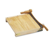 Swingline 1142 - ClassicCut Ingento Solid Maple Paper Trimmer, 15 Sheets, Maple Base, 15 x 15-SWI1142