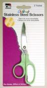 Charles Leonard Scissors - Children's 13cm Ptd - Stainless Steel - Assorted Colours - 1/Card, 80505