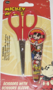 Disney Mickey Mouse Original 28 Scissors & Sleeve Set - Vintage Style Mickey and Friends