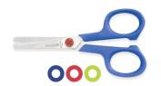 Mundial 667-KM Red Dot Kids 11cm Blunt-Tip School Scissors