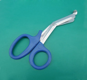 4 Pieces of EMT Utility Scissors Shears 14cm Blue