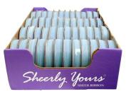 Offray Spool O Ribbon Woven Edge Sheers 0.6cm X5yds Light Blue 48 Spool Assortment AE2309