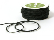 May Arts Ribbon, Black Burlap String