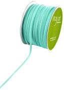 May Arts 0.3cm Wide Ribbon, Light Blue Velvet