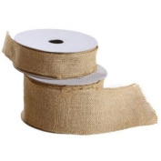 3.8cm Wide Burlap Ribbon on Spool - 10 yards