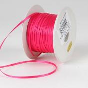 Shocking Pink Satin Ribbon 0.3cm 100 Yards