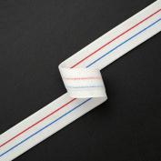 Elastic Stretch Ribbon Trim for underwear, pyjama elastic, 2.9cm by 2 yards, WHITE, SP-2044
