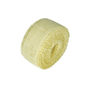 White Jute Ribbon | 10 Yds