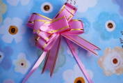 Gift Wrapping Decoration Flowers - Pink