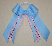 Small Bow with Pink Sequin - 2 available
