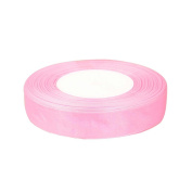 "OurWarm Light Pink 5/8"" (15mm) Sheer Organza Ribbon for Birthday Party/Craft/Wedding Favours Scrapbooking Decor 50yard"