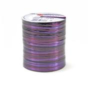 Morex Ribbon Pearl Raffia Fabric Ribbon Spool, 55-Yard, Purple
