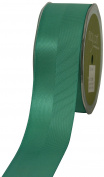 May Arts 3.8cm Wide Ribbon, Teal Satin and Grosgrain