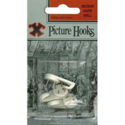 Wall Hooks- Medium. Pack of 3