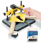Logan Studio Joiner Model F300-1 with One Package of 200 Logan 3/8 (10mm) V NAIL Logan Framing Tool Hardware