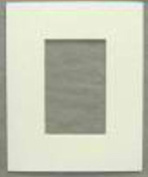 White Acid Free Picture Frame Mat, 16x20