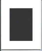 Pack of 10 8x10 White Picture Mats White Core Cut for 5x7 Pictures