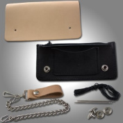 Springfield Leather Company's Black Biker Wallet Kit