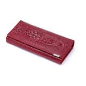 2013 Wholesale Crocodile Design Genuine Leather Wallet Women Lady Handbag Noble Luxurious Personalised Custom