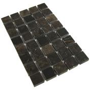 Antiquity Mosaics Crema Dark Emperador Marble Tiles