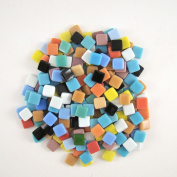 Jennifer's Mosaics 1cm Classico Mosaic Tiles Colour Variety, Assorted Colours, 240ml
