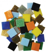 Jennifer's Mosaics Variety 1.9cm Venetian Style Glass Mosaic Tile