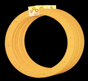 6 Pack, 46cm , Biodegradable Floral Craft Ring, Ez Glueable Wreath Form, for Photo Frame, Other Arts , Props and Crafts Projects