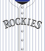 Turner MLB Colorado Rockies Stretch Book Covers