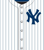 Turner MLB New York Yankees Stretch Book Covers