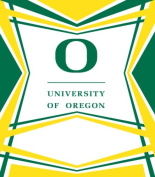 Turner Cind Oregon Ducks Stretch Book Covers